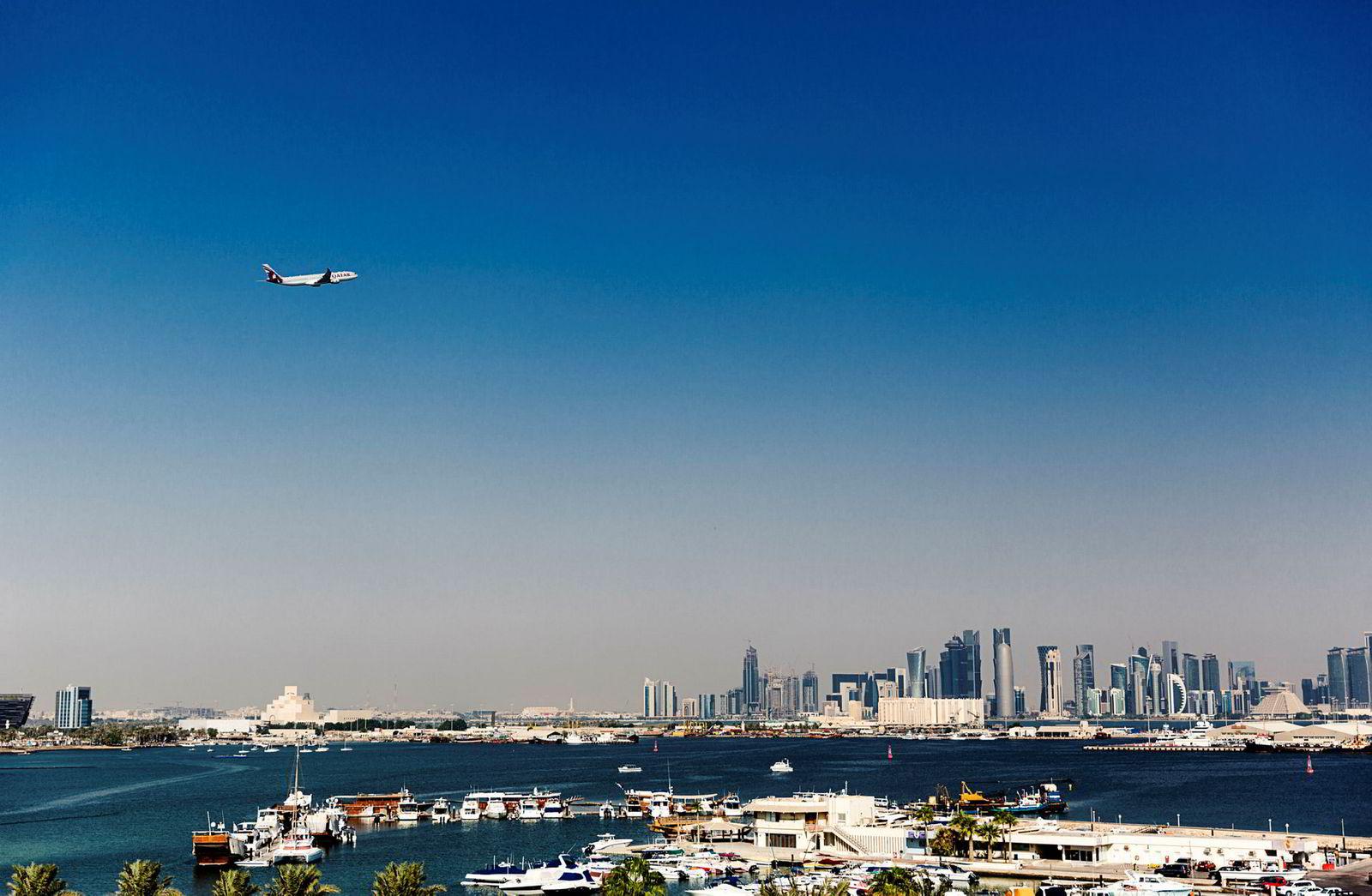 Qatar Airways, med base i Doha (bildet), er ett av verdens raskest voksende flyselskaper.