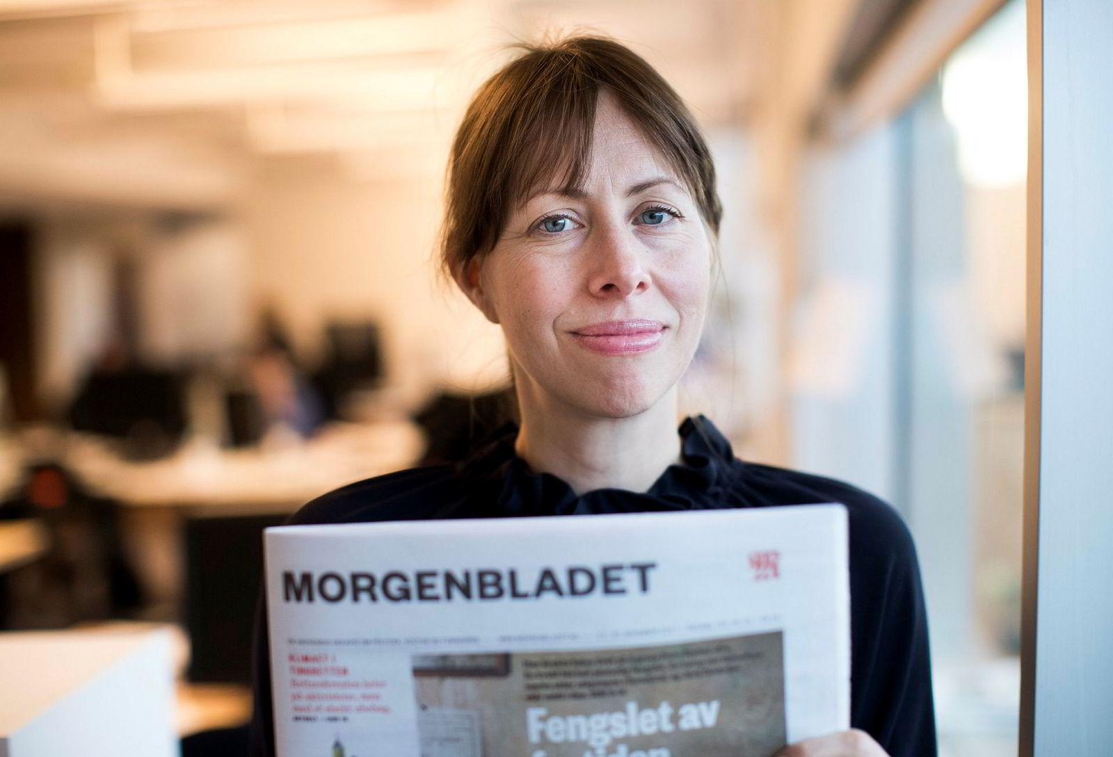 Ansvarlig redaktør Anna B. Jenssen i Morgenbladet vil ikke kommentere de konkrete påstandene som kommer frem i et brev fra redaksjonsklubben til styret.