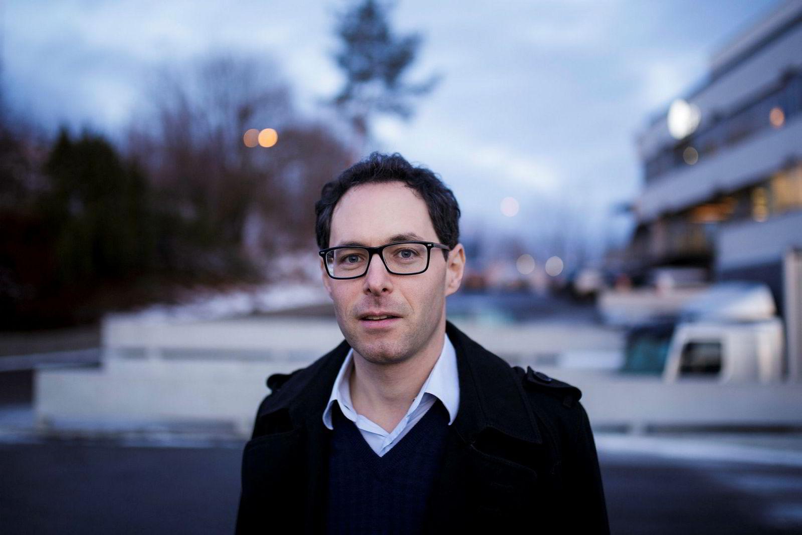 Administrerende direktør i RiksTV, Jérôme Franck-Sætervoll.