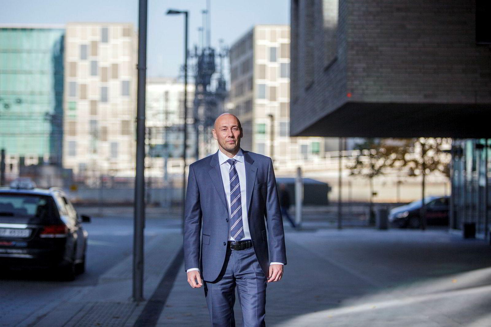 Helge André Martinsen oljeanalytiker i DNB Markets.