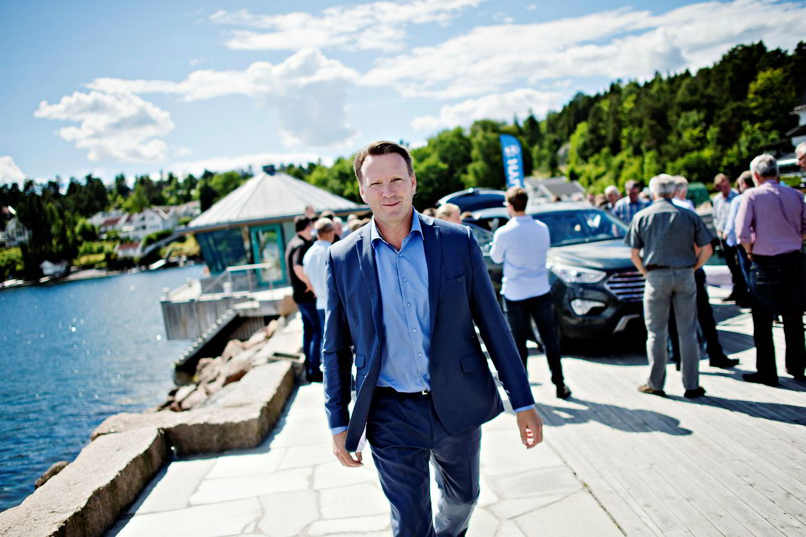 – En grunnløs påstand, sier Thomas Rosvold, sjef for Hyundai i Norge.