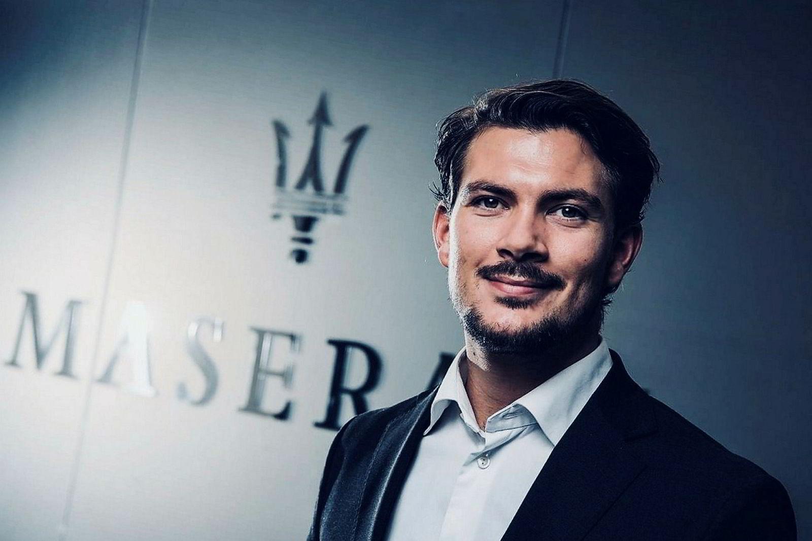 Jon Kristian Schill er Brand Manager for Maserati i Norge.