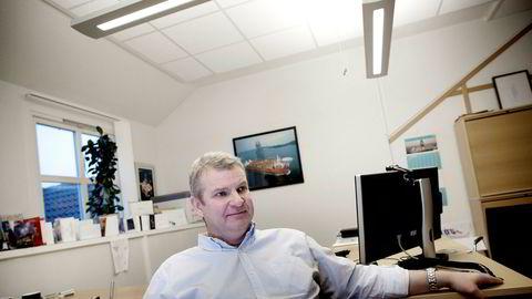 Tor Henning Ramfjord får med seg milliardærene Endre Tarald Glastad og Leif Hübert i teknologiselskapet Global Ocean Technology.