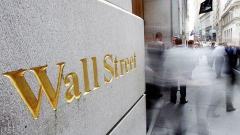 Stor usikkerhet preger Wall Street.