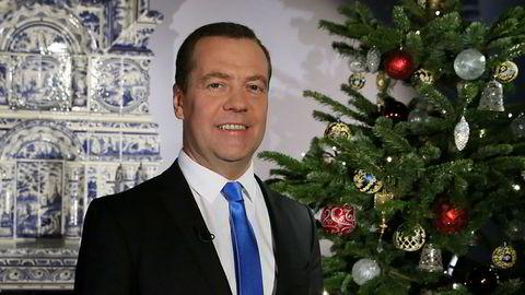 Statsminister Dmitrij Medvedev er på listen over rike og mektige russere som Trump-administrasjonen motstrebende har lagt frem. Men USA vil ikke innført noen nye sanksjoner mot disse personene som reaksjon på Russlands innblanding i det amerikanske presidentvalget.
