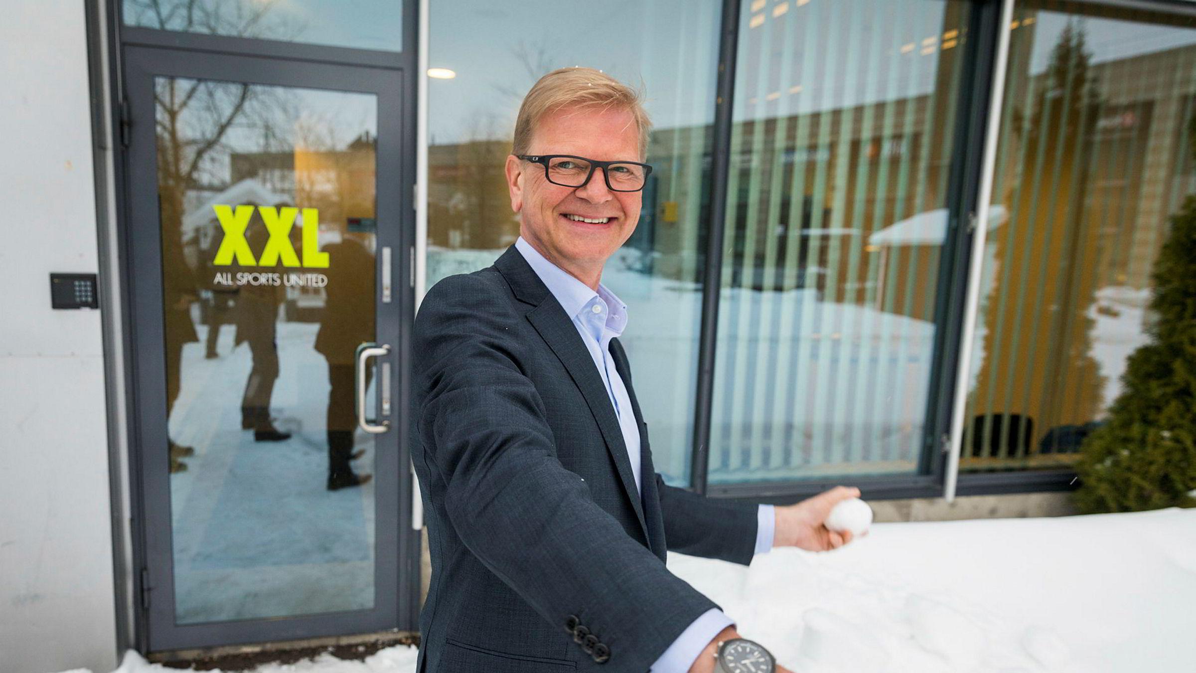XXL-sjef Fredrik Steenbuch