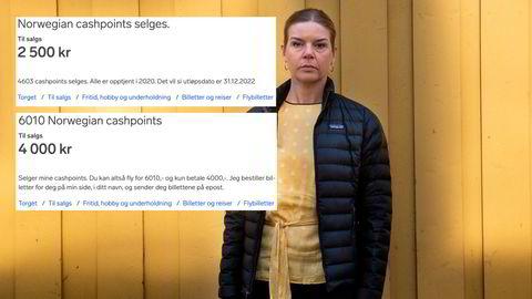 – Om Norwegian går konkurs sitter du igjen med null, niks og nada, rett og slett, sier leder for Forbrukerdialog Pia Cecilie Høst i Forbrukerrådet.