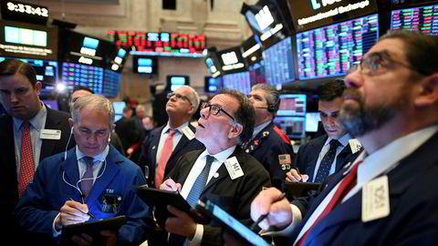 Det har vært kraftige svingninger på de amerikanske børsene denne uken.