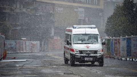 Det er ikke lov å kjøre bil i Hubei-provinsen i Kina etter koronautbruddet.