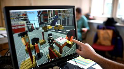 Dataspill kan fortelle historier, gi tilgang til nye perspektiver, brukes som skapende verktøy, og danne grunnlag for dialog og refleksjon. Her fra spillet «Minecraft».