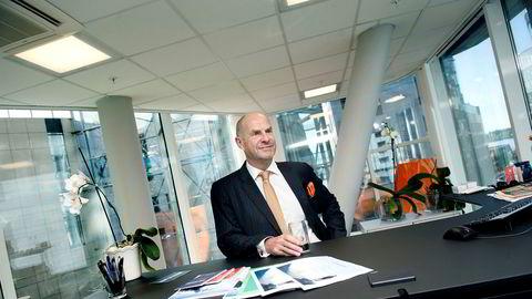 Sverre Bjerkeli, administrerende direktør i Protector Forsikring, har sammen med familien sett verdien på aksjene deres gå ned med over 100 millioner kroner.