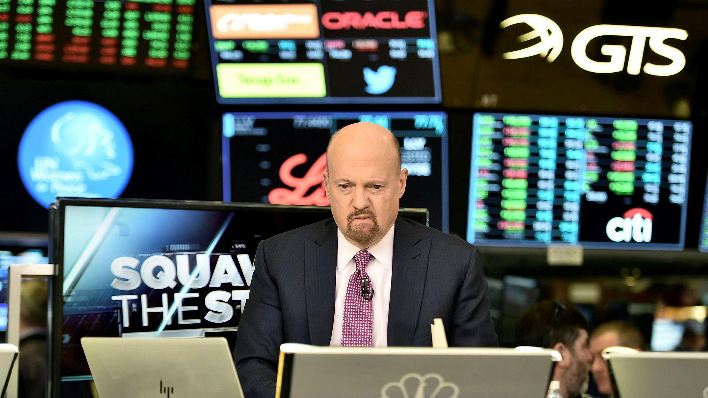 Aksjekommentator Jim Cramer sjokkerte CNBC-seerne med å erklære at oljeselskapene er i en dødsfase.