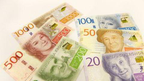 Sverige er på vei mot en kontantløs handel.
