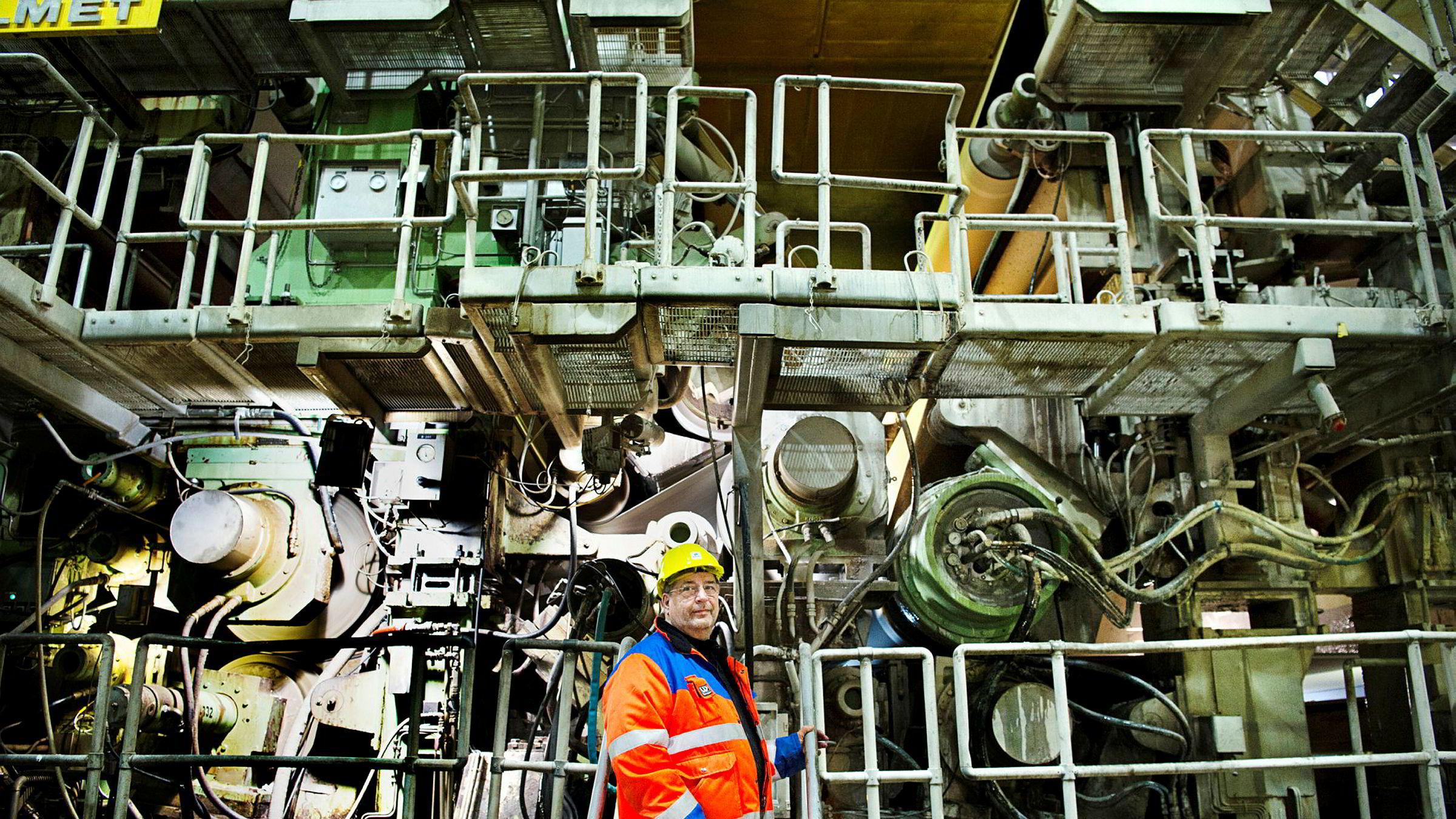 – Alle ønsker en avklaring, sier hovedtillitsvalgt Paul Kristiansen i Norske Skog om Akers interesse for å kjøpe Norske Skogs fabrikker.