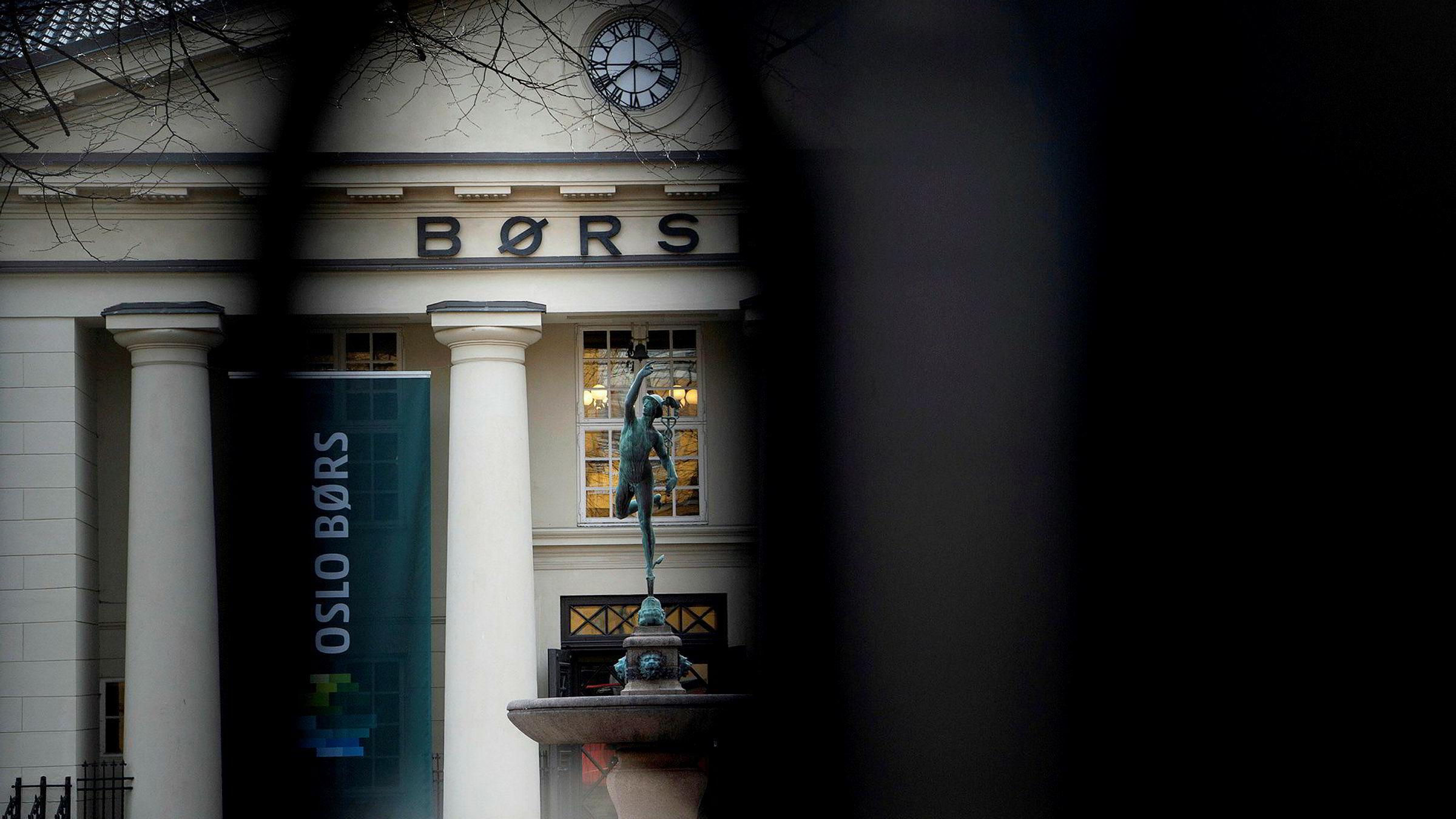 Oslo Børs, og alle verdens børser kan bli stengt ned.