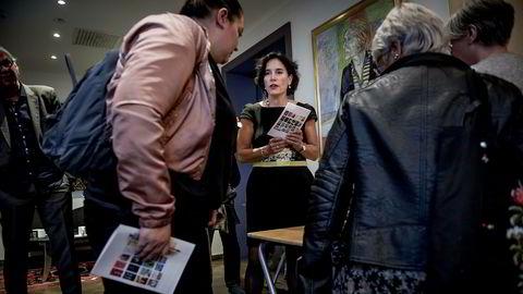 Forlagsdirektør for litteratur i Aschehoug Kari J. Spjeldnæs sier forlagets agenturvirksomhet åpner for å hjelpe forfattere fra andre forlag ut i verden.