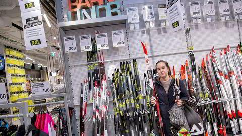 Maria Fossli (30) var på XXL på Storo i Oslo fredag. Hun fant en god «deal» på felleski.