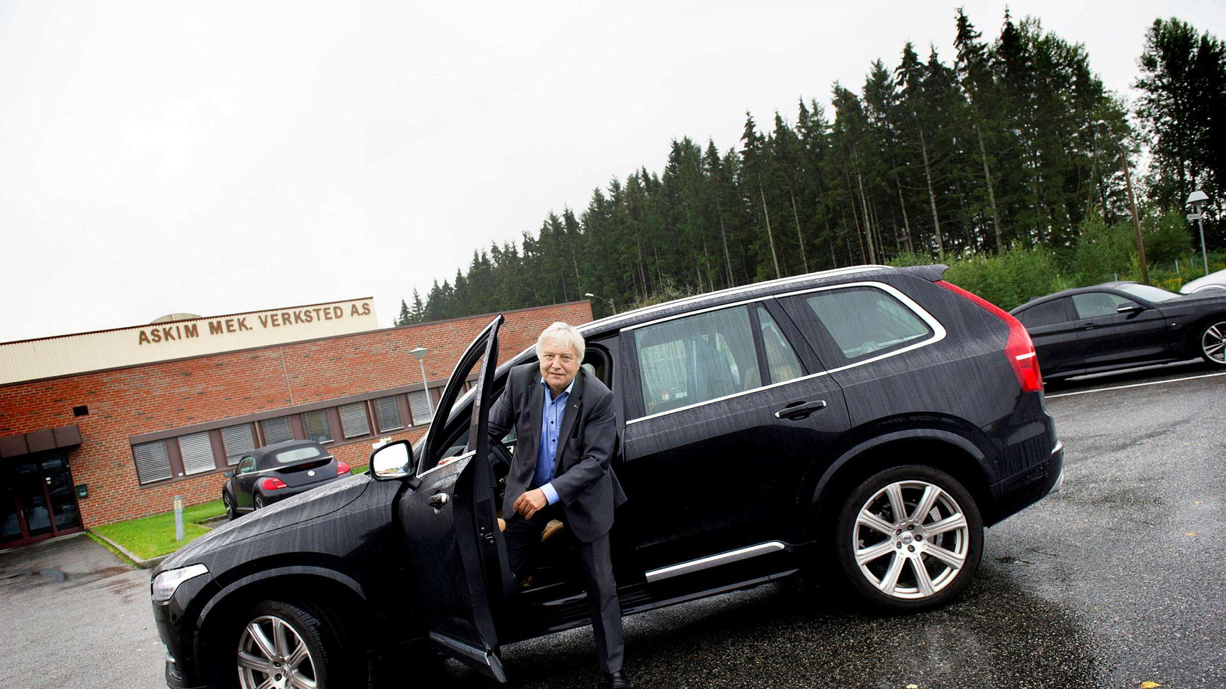 – Vi har kontakt med flere aktører, sier styreleder Olav Peder Breivik i Viken Skog, som kjemper for å redde Norske Skogs norske bedrifter.