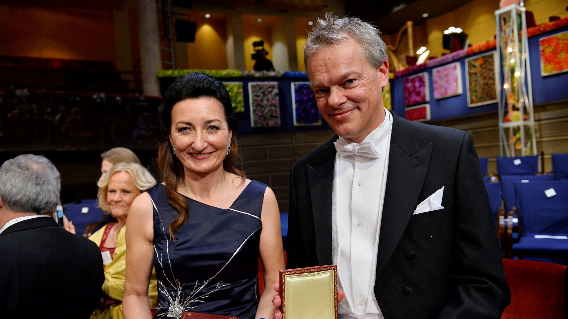 May-Britt og Edvard Moser vant Nobelprisen i medisin i 2014.