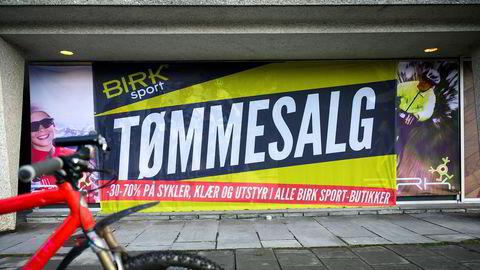 Sykkelbutikkjeden Birk Sport begjærte seg konkurs i januar etter store underskudd i 2019.