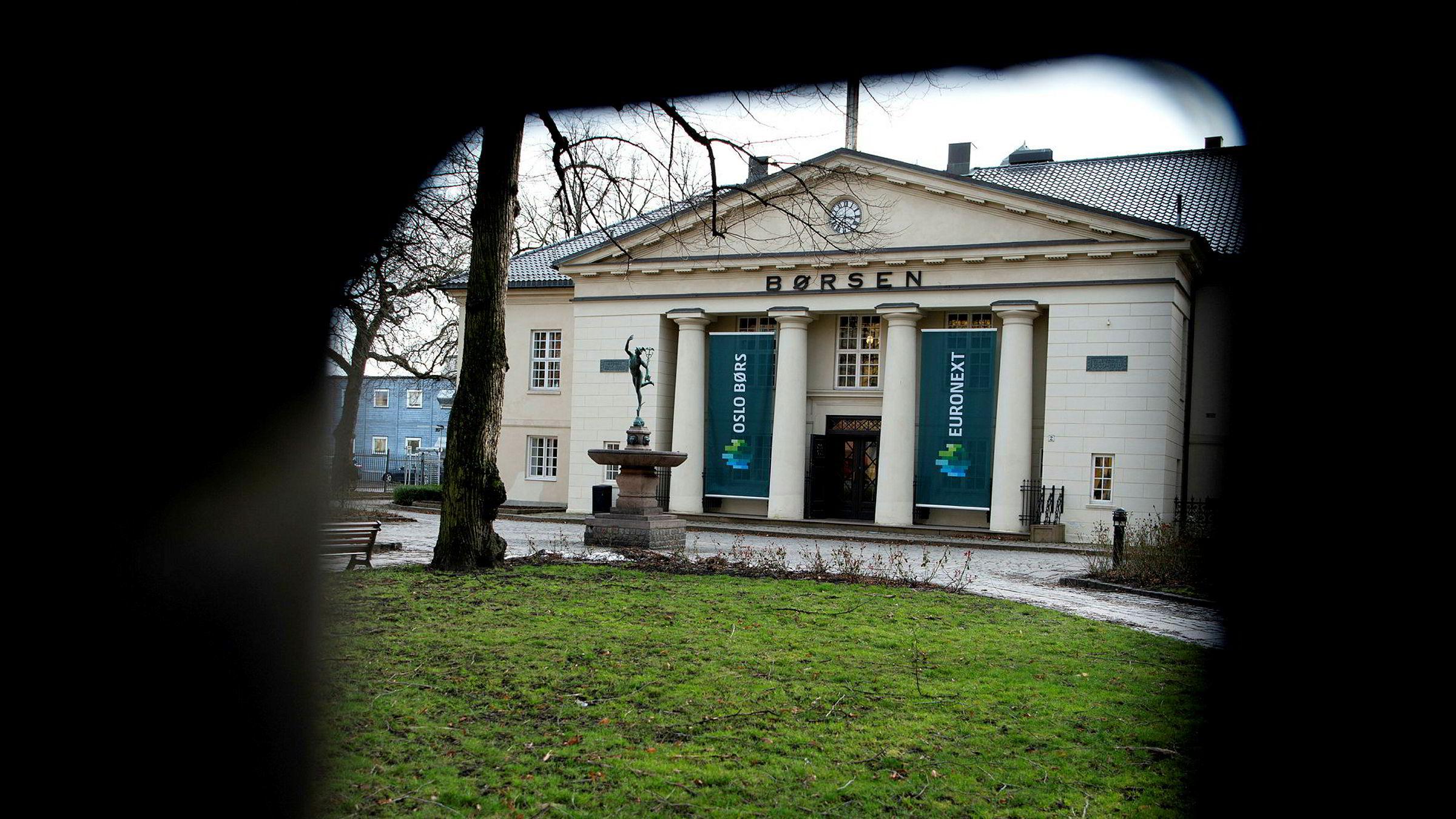 Oslo Børs har hatt en sterk uke, men falt ett prosent torsdag.