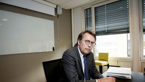 Advokat Harald Christensen i firmaet Føyen Torkildsen bisto Næringsspar da selskapet fikk trøbbel med Finanstilsynet.