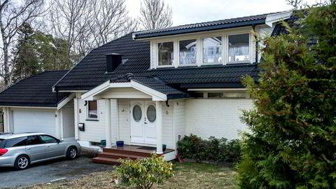 Økokrim har tatt pant på 18 millioner kroner i huset der Are Abrahamsen har bodd i mange år.