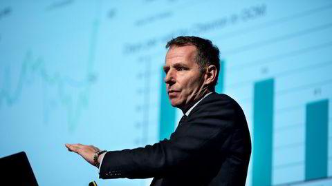 Jarand Rystad grunnla analysebyrået Rystad Energy tilbake i 2004. Her fra oljekonferansen Offshore Summit 2017 i Stavanger.