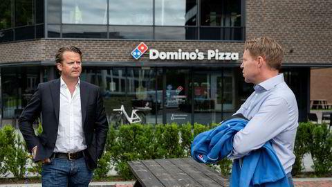 Pizza-kjeden Domino's Pizza har etablert seg rundt flere av de største norske byene, men har slitt i motvind. Nå skal styreleder Eirik Bergh og Godtlevert-gründer Kjetil Graver forsøke å snu skuta.