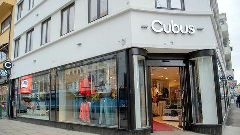 Kleskjeden Varner har kjeder som Cubus, Dressmann og BikBok. Her fra an av butikkene i Bogstadveien.
