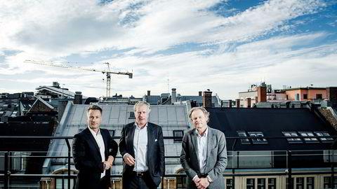Runar Vatne, Carl Erik Krefting og Hans Petter Krohnstad fra Søylen Eiendom satt igjen med milliarder da de solgte det norske luksusmotestrøket med Steen & Strøm, Eger, Hermes og Gucci for et par år siden.