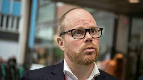 Sjefredaktør i VG, Gard Steiro.
