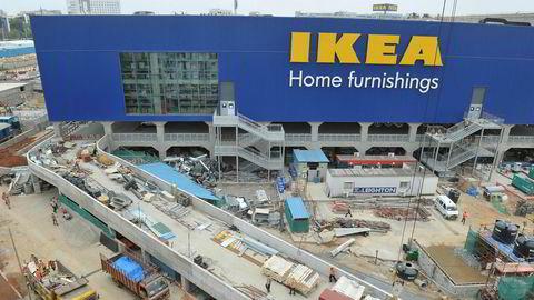 Neste måned åpner Ikea sitt første varehus i India. Denne ligger i Hyderabad.