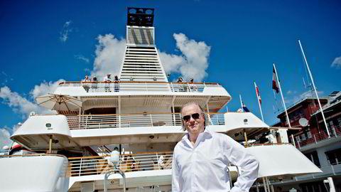 Atle Brynestad er tungt inne i cruise og handel som begge har vært hardt rammet av koronakrisen. – Det har vært tyngre tidligere enn det er nå, svarer Brynestad.