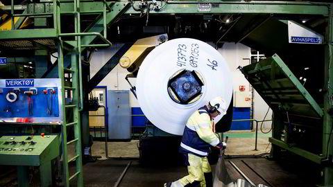 Aluminiumseksporten er en av industriene som er blitt rammet av koronaviruset.