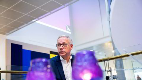 Scatec-sjef Raymond Carlsens aksjer er nå verdt rett i underkant av 800 millioner kroner.