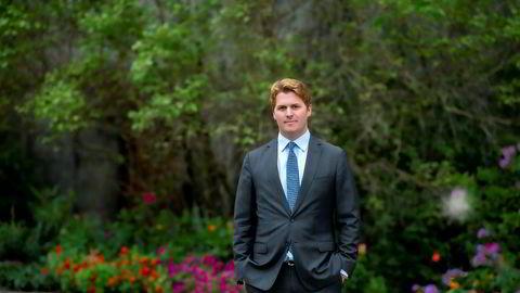 Forvalter Philippe Sissener har tro på Norsk Hydro.