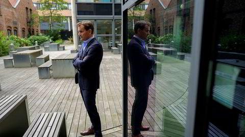 Jon André Løkke, konsernsjef i Nel er usikker på om Nel får mer støtte fra Enova. Foto: Fartein Rudjord
