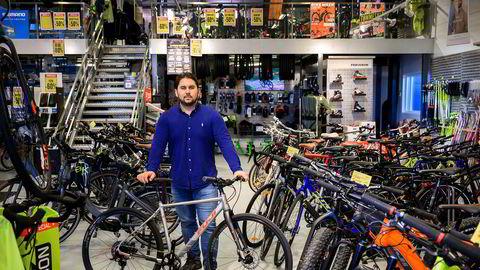 Sykkelforretningen Birk Sport har begjært seg konkurs etter tosifret milliontap i 2019. Daglig leder Martin Norgård Vermundsberget møter DN like etter at møtet med bostyrer er ferdig.