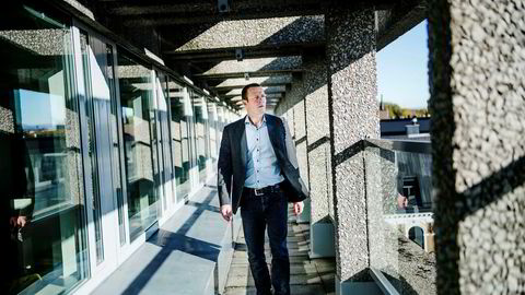 Direktør Harald Jachwitz Andersen i Virke Handel sier 40.000 norske arbeidsplasser innen norsk handel vil forsvinne med dagens vekstfart i utenlandshandelen.