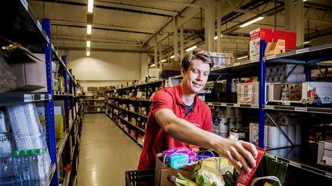 Kjøpmann Roy Snapa i Handleriet.no, som kjøper deler av konkursrammede 123Levert.no.