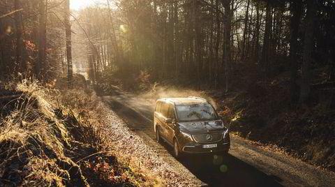 Mercedes EQV er andre elektriske modell i den nye EQ-serien, og gir mening.