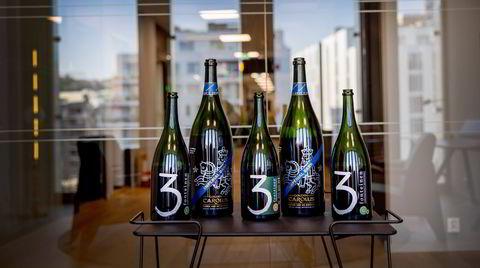 Store ølflasker kan gjerne lagres i opptil 10 år.