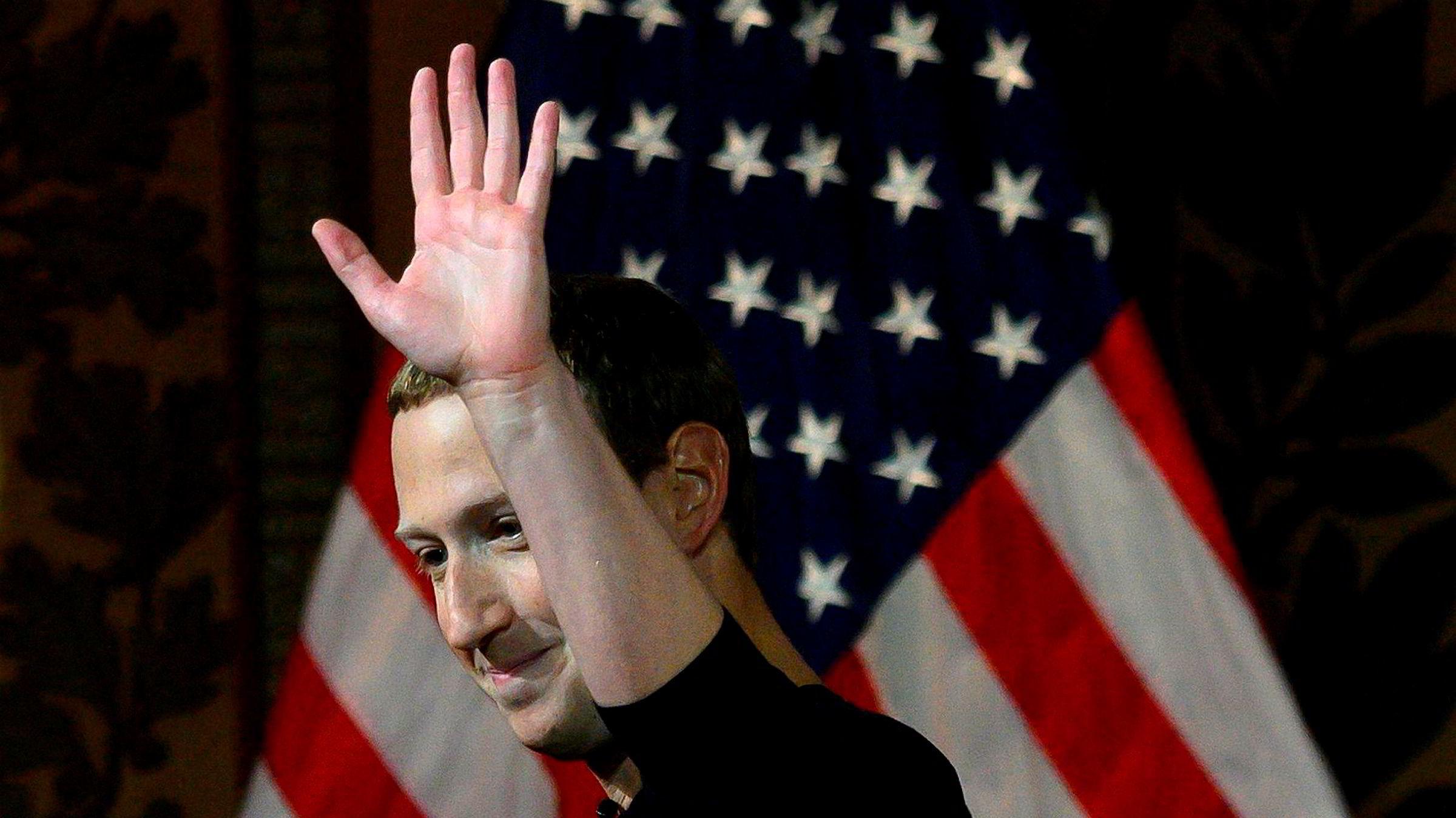 Facebook møter konkurranse fra Kina. Grunnlegger Mark Zuckerberg advarte mot sensur og konsekvensene hvis amerikanske politikere bestemmer seg for å bryte opp teknologiselskapene under et innlegg ved Georgetown University på torsdag.