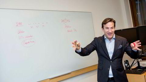 Karl Berglund i ABG Sundal Collier Holding solgte 16. november 200.000 aksjer.