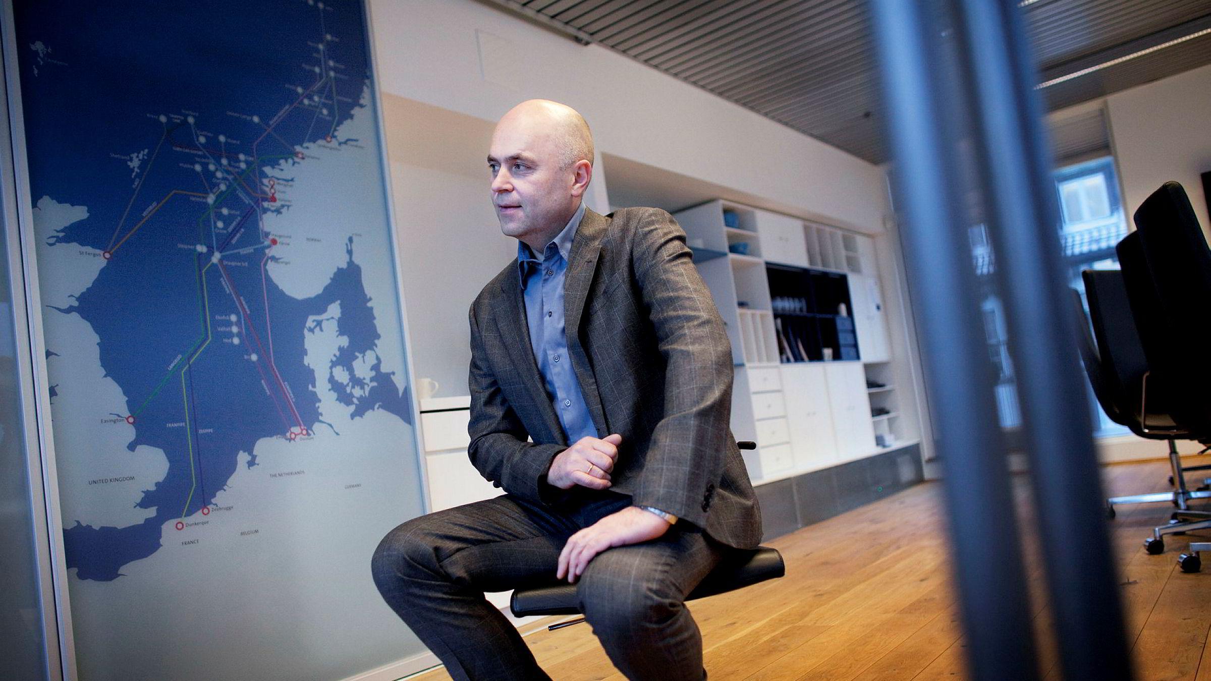 – Hitecvision er ikke kjent for å sitte stille. Dette er bare starten, sier Trygve Pedersen, administrerende direktør i Solveig Gas Norway.