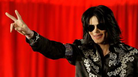 Avdøde Michael Jackson, her fotografert i London i mars 2009.