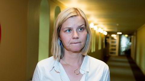 Kunnskapsminister Guri Melby (V) innfører fritt skolevalg i hele landet.