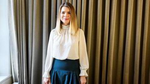 Gründer og utvikler. Angela Juvet Branæs sikter inn moderne businessdamer med det hun kaller «en fashionvariant av OpenTable eller Skyskanner».