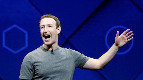 Mark Zuckerberg, grunnlegger og administrerende direktør i Facebook, her avbildet ved en tidligere anledning.